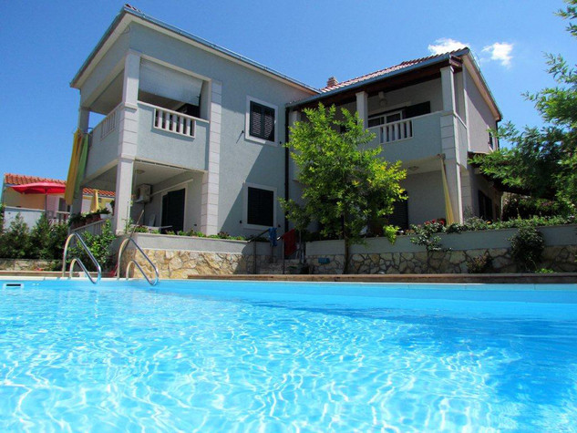 Villa with pool in Supetar on island Brac