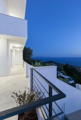 Luxury Villa in Gornja Podgora with Panoramic View on Sea and Makarska Riviera Islands