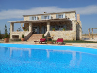 Dalmatian Stone Villa with Pool in Zemunik Gornji near Zadar
