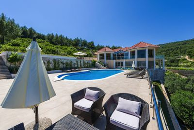 Luxury Croatian Beach Villa in Korcula Island