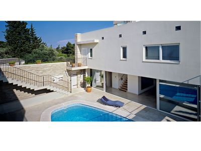 Exclusive Large Villa with Swimming Pool in Bol, island Brac