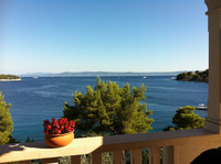 Holiday House with Pool near the Beach in Sumartin Island Brac