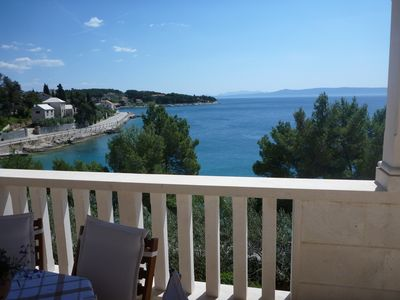 Holiday House with Pool near the Beach in Sumartin; island Brac