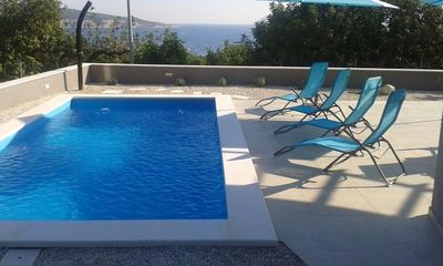 Lovely Sea View Villa with Pool Komiza, island Vis