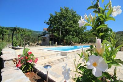 Beautiful Countryside House with Pool for 10 Persons on Island Korcula