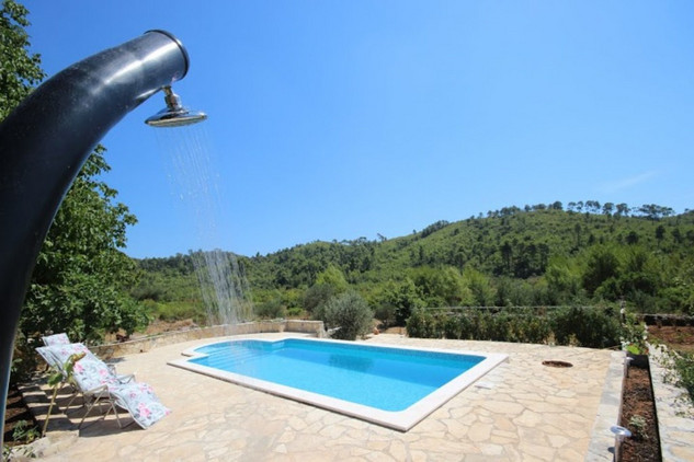 Beautiful Countryside Holiday House with Pool in Korcula Island