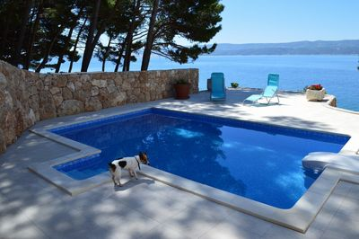 Beach House with pool Nemira, Omis Rivera