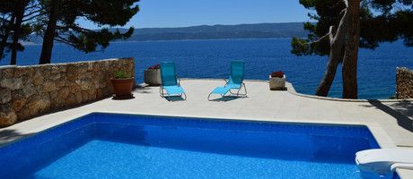 Beach House with Pool Nemira, Riviera Omis