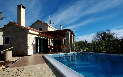 Classy Villa with Pool in the Heart of Island Brac