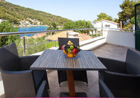Lovely Seaview Holiday House with Outdoor Jacuzzi in Stomorska; Island Solta