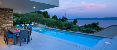 Sea View Luxury Villa Lokva Rogoznica Riviera Omis
