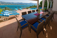 Charming Sea View Holiday Villa with Pool in Mastrinka Ciovo