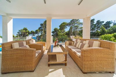 Spacious Sea View 5 bedroom Luxury Villa near Dubrovnik