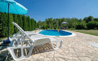 Romantic Holiday House with Pool near Labin in Istria