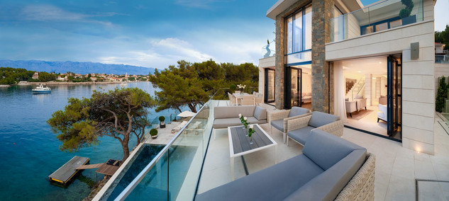Exclusive 5***** Star Villa near Sumartin, Island Brac
