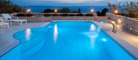 Luxury Villa with Heated Pool and Sea View Terrace Makarska
