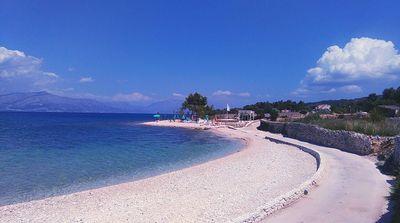 Lovely Beachfront Holiday House In Supetar Island Brac