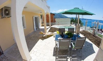 2 Bedroom Sea View Villa with Poll in Mlini