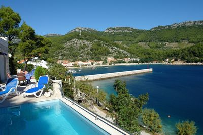Peljesac Seafront Villa with Private Pool