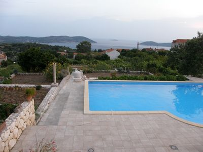 Lovely Holiday House with Private Pool and Sea View in Orasac