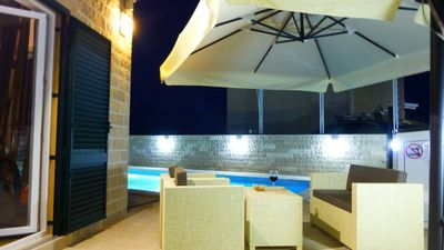 Modern Stone Villa  With Pool; island Brac Hinterland