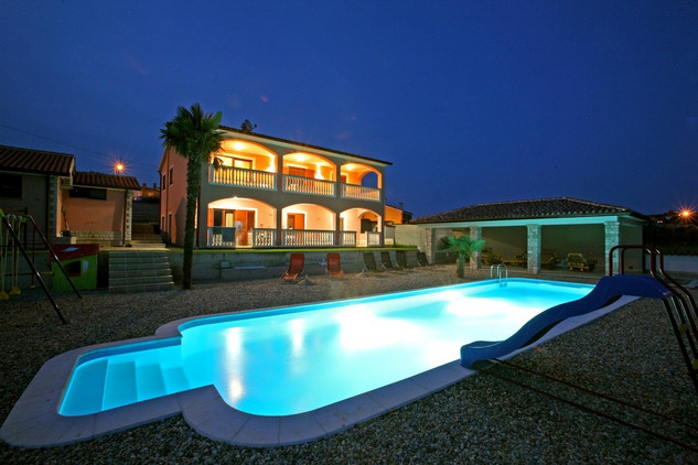 Waterfront Villa In Istria, With Large Pool