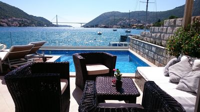 Dubrovnik Beachfront House with Pool