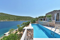Island Solta Seafront Villa with Swimming Pool and Enclosed Garden