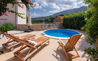 Island Hvar Villa with Pool and Wine Boutique