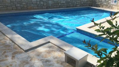 Charming Holiday House with 2 Private Swimming Pools in Sutivan Island Brac