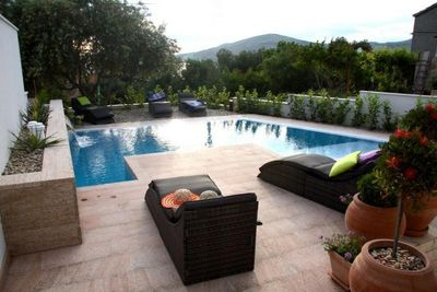 Stylish 6 Bedroom Sea View Villa with Pool near Trogir