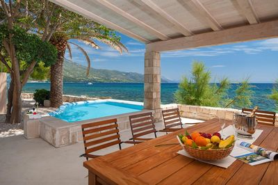 Luxury Villa with Private Beach Pool and Large Yard in Orebic