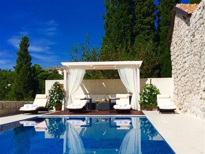 Luxury Estate With Tennis Court, Pool in Mlini, Dubrovnik Riviera