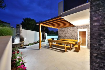 Luxury Modern Villa with Pool and Roof Terrace, Island Ciovo