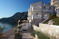 Luxury Beachfront Villa with Pool near Makarska