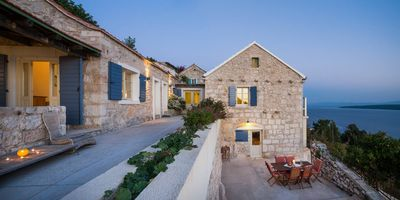 Unique Stone Villa  With Pool And Stunning Sea Views , Zavala, Island Hvar