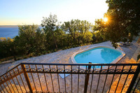 Authentic Sea View Vacation Villa with Pool Zadar Area