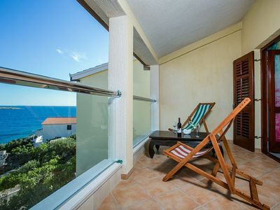 Seafront Holiday House with Pool Private Beach and Boat Mooring