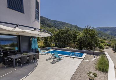 Lovely Sea View Villa with Pool in Komiza Island Vis