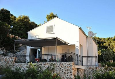 Lovely Seafront Holiday House with Pool in Vinisce Trogir Riviera