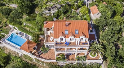 Astonishing Luxury Villa with Heated Swimming Pool in Soline, near Dubrovnik
