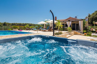 Charming Croatian Beach Villa Mirca with Heated Pool