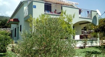 Holiday Apartment House in Riviera Rogoznica Right in Front of the Sea and Beach
