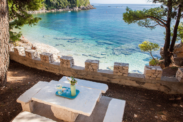 Amazing Beachfront Villa in Peljesac Peninsula near Orebic