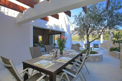 Seafront Holiday Villa with Private Swimming Pool and Beautiful Terrace in Lastovo Island