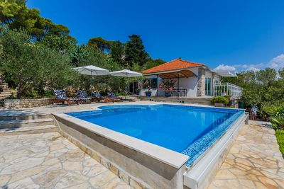 Croatian Holiday House with Pool Tisno