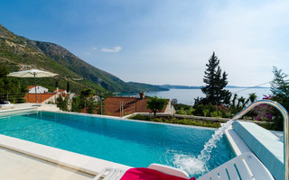 Gorgeous Sea View Villa with Pool in Zupa Dubrovacka near Dubrovnik and Cavtat