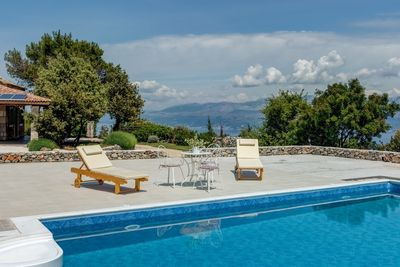Adorable Sea View Holiday Villa with Pool in Island Brac