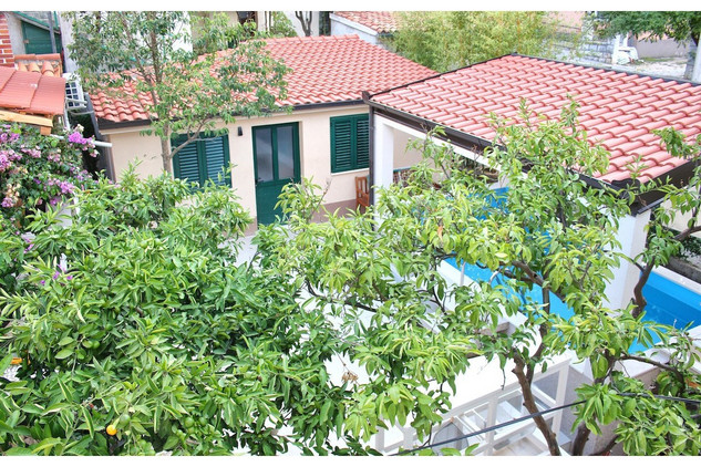 Attractive Villa with Sauna and Pool within Charming Yard near Split Town Center