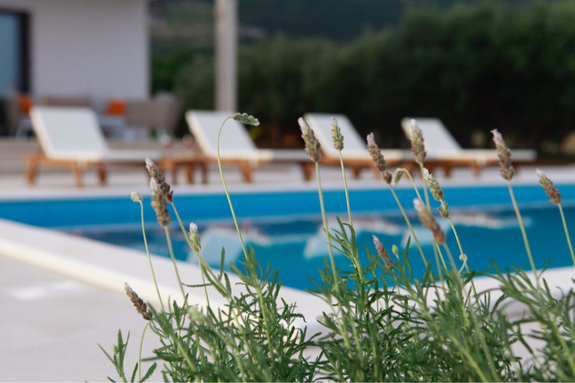 Attractive Sea View Villa with Pool near Trogir and Split
